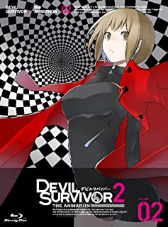 DEVIL SURVIVOR 2 the ANIMATION (2) (初回限定特典 特典ドラマCD「がんばれヒビキくん!その1」付き) [Blu-ray]