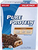 Pure Protein Smores Value Pack 6-50 Gram Bars (Pack of 2)