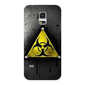 Enticing Three Nut Triangle Multicolor Back Case Cover for Galaxy S5 Mini