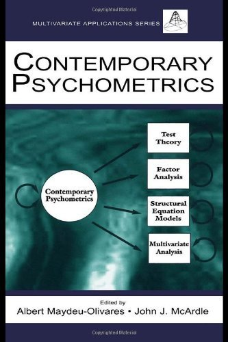 Contemporary Psychometrics: A Festschrift For Roderick P. Mcdonald (Multivariate Applications Books) (Multivariate Applications Series) By Maydeu-Olivares, Albert Published By Psychology Press Hardcover
