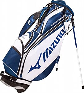Mizuno Golf Japan Tour Style 077 Cart Caddy Bag WH NV by Mizuno