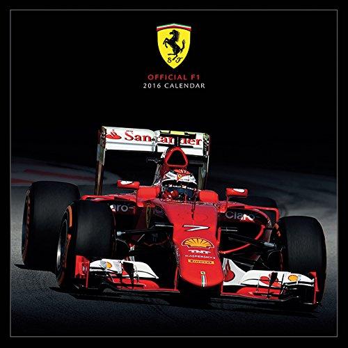 Ferrari F1 2016 Square Calendar