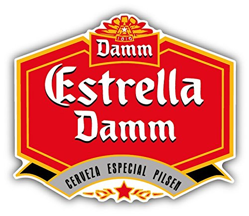 estrella-damm-cerveza-beer-drink-car-bumper-sticker-decal-12-x-10-cm