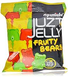 Alpenliebe Juzt Jelly Candies - Fruity Bears, 72.8g Pouch