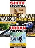 img - for SHTF Stockpile 4-Box Set: SHTF Stockpile, Prepper Weapons, Survival Vehicle, Urban Prepping book / textbook / text book