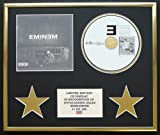 EMINEM/CD DISPLAY/LIMITED EDITION/COA/THE MARSHALL MATHERS LP