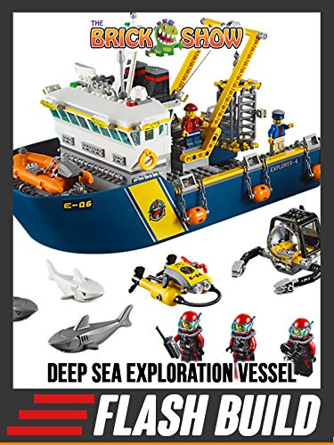 LEGO Deep Sea Exploration Vessel Speed Build (60095)