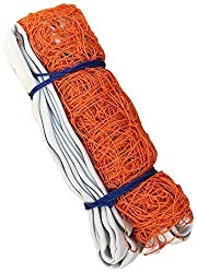 SAHNI SPORTS Polypropylene Volleyball Net, Multi-Color