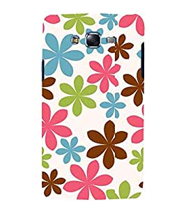 Fuson Premium Back Case Cover Floral Pattern With Multi Background Degined For Samsung Galaxy Grand i9080:::Samsung Galaxy Grand i9082