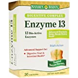 Nature's Bounty Digestive Complex Enzyme 13, Capsules--30 ea