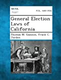 img - for General Election Laws of California book / textbook / text book