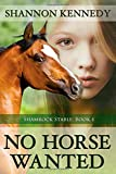 img - for No Horse Wanted book / textbook / text book