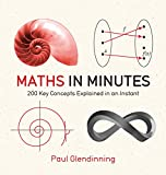 Math in Minutes: 200 Key Concepts Explained In An Instant (English Edition)