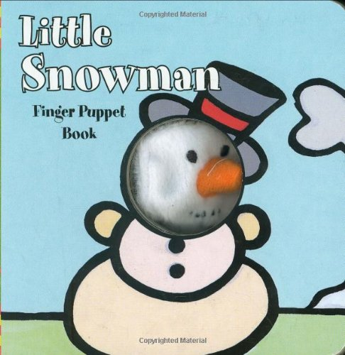 Little Snowman: Finger Puppet Book (Finger Puppet Books)