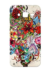 100 Degree Celsius Back Cover for Samsung Galaxy J3 (Designer Printed Multicolor)