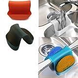 #1: Rian's Online Small Saddle Sink Caddy Organizer Sponge Soap Holder (1 Pc Random Color)