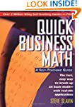Quick Business Math: A Self-Teaching...