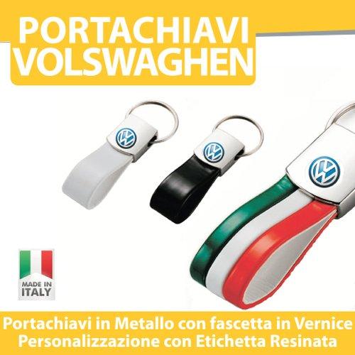 PORTACHIAVI AUTO MOTO TUNING - VOLKSWAGEN Golf Up Polo Passat - PORTACHIAVE in Metallo printerlad.it (BIANCO)