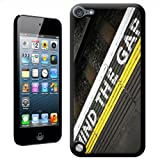 Fancy A Snuggle 'Mind the Gap Sign on London Underground' Hard Case Back Cover for Apple iPod Touch 5th Generation