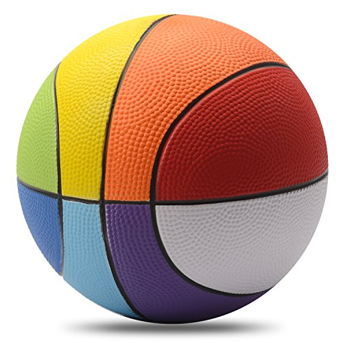 Rainbow-Basketball-Chastep-8-inch-Foam-BasketballSafe-and-Perfect-to-Play