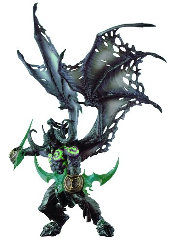Picture of Diamond Comics World of Warcraft Deluxe Collector Figure: Illidan (Demon Form) (B0021L8FL2) (Diamond Comics Action Figures)