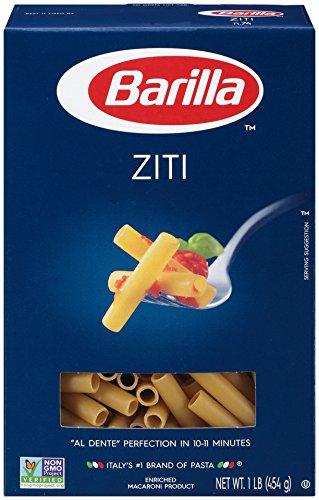 Barilla Pasta, Ziti, 16 Ounce (Pack of 12) (Pasta Spaghetti Box compare prices)