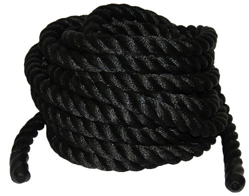 T.W . Evans Cordage Co. 1064-30 1-1/2-Inch x 30-Feet Black Poly Training Rope
