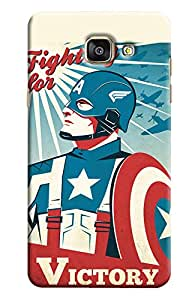 Clarks Captain America Victory Inspired Hard Plastic Printed Back Cover/Case For Samsung Galaxy A5 2016