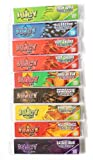 9 booklets JUICY JAYS MIXED King Size Slim Flavoured Cigarette papers