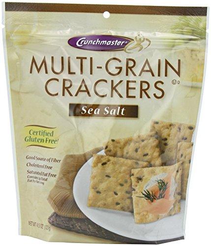 Crunchmaster Cracker - Sea Salt Flavor Gluten Free, 4.5-Ounce (Multigrain Sea Salt compare prices)
