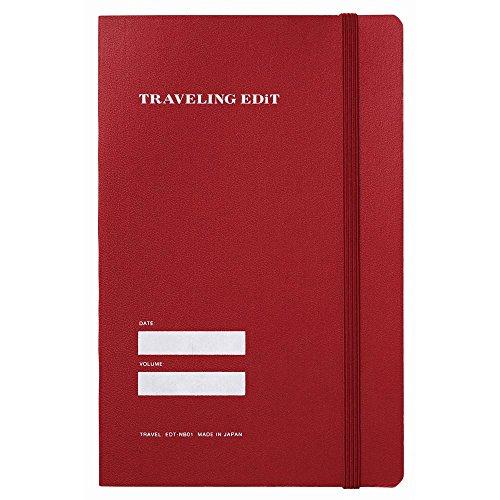 マークス TRAVELING EDiT 旅するエディット / EDiT/レッド EDI-NB01-RE [オフィス用品]