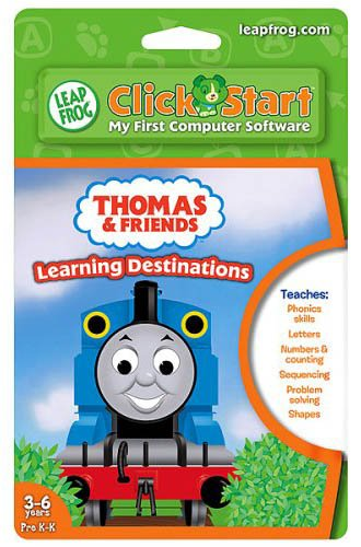 Leapfrog Clickstart Educational Software: Thomas and Friends - Learning Destinations