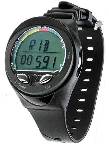 New AERIS A300 Personal Scuba Diving Wrist Computer - Powered by Dual Algorithm with Deep Stop