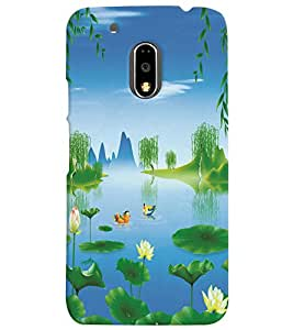 GADGET LOOKS PRINTED BACK COVER FOR MOTOROLA G4 PLUS MULTICOLOR