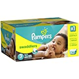 Pampers Swaddlers Diapers Size 3 Economy Pack Plus 162 Count by Pampers
