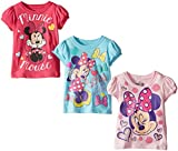 FREEZE Little Girls' Disney Minnie Mouse Three-Pack of Toddler T-Shirts
