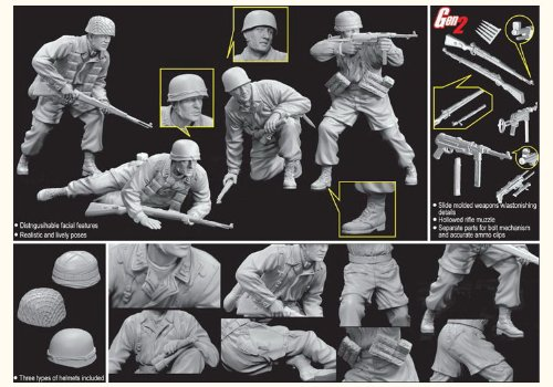 1/35 モンテカッシーノ守備隊 1944 (降下猟兵)