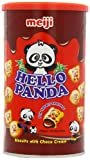 Meiji Hello Panda Biscuits with Creamy Chocolate Filling 450 G