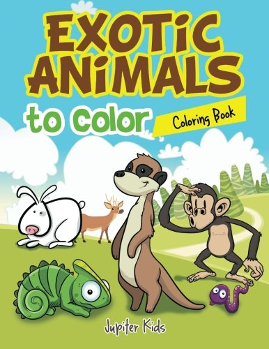 Exotic Animals to Color Coloring Book