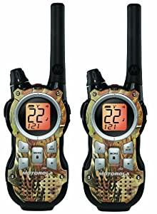 Motorola Mr355r 35-mile Range 22-channel FRS/gmrs Two-way Radio Pair
