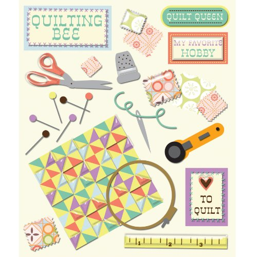 K&Company Quilting Sticker Medley (Sewing Stickers compare prices)