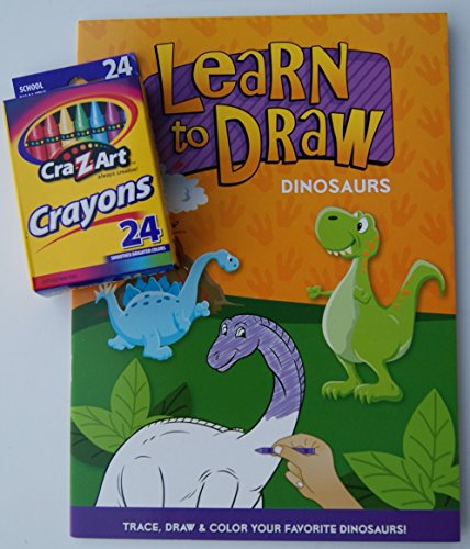 Learn to Draw Coloring Kit - Dinosaurs