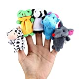 Generic 10 Pcs Finger Puppets Cartoon Animal Cloth Doll Baby Kids Educational Hand Toys Gift
