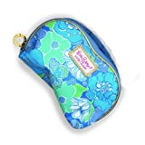 Lilly Pulitzer for Estee Lauder Collection Cosmetic Makeup Bag (Blue Flower)