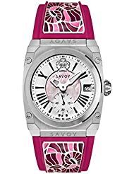 Savoy Swiss Made Icon Light Pink Steel Dial Female Watch -C1101A01JRG16