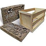 AEC LP Record Crate