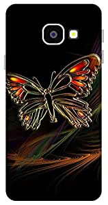 The Racoon Grip The Butterfly hard plastic printed back case / cover for Samsung Galaxy A3(2016)
