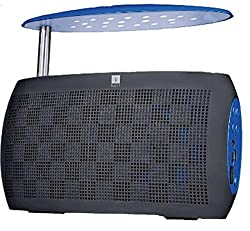 iBall Musi Live BT30 Bluetooth Speaker with FM Radio & LED Night Lamp