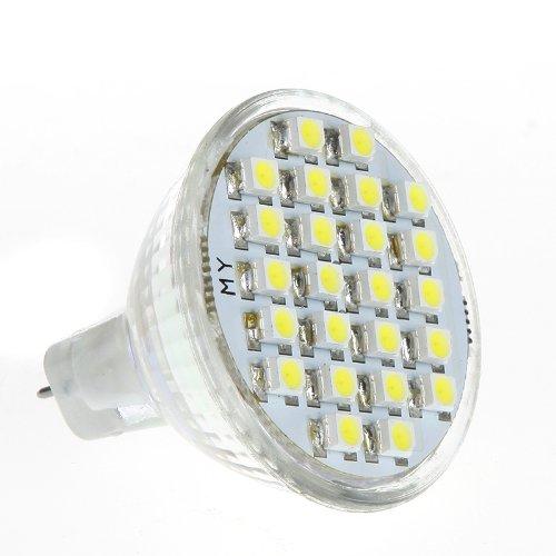 Kingzer 24 Led Mr11 Gu4 1.5W Ac 12V Led Light Bulb Spotlight Energy-Saving Lamp White