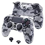 YoRHa Super customizing Hard Protector Shell case Cover for Sony PS4/slim/Pro Dualshock 4 Controller (Camouflage Grey)
